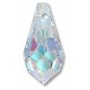 Swarovski Pendant 6000 Drop 11x5.5mm Crystal (Aurora Borealis)